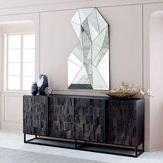 Asymmetrical Wall Mirror | west elm