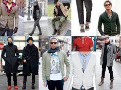 inspirational look Men street Fashion