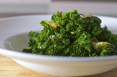 Easy Sautéed Kale with Garlic, Lemon and Chili