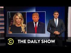 The Daily Show - Donald Trump vs. Megyn Kelly - YouTube
