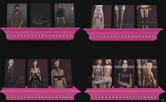 Several Outfits & Accessories Group Gift by cheeky