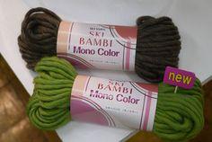 Bambi (organic) ski wool yarn knitting