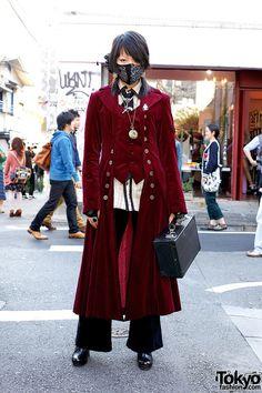 aristo on the streets of Harajuku