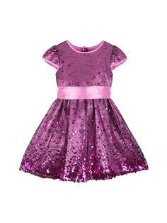 Border Sparkle Dress