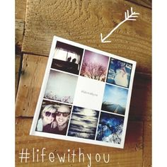An instagram-friendly book from Katie Joiner on #lifewithyou  Beginning at $12.99 at www.artifactuprising.com