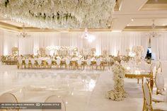 An Extravagant and Glamorous Wedding at The Langham Hotel in Pasadena, California Wedding Reception Design, Luxury Wedding Decor, Wedding Set Up, Magical Wedding, Tent Wedding, Wedding Table, Wedding Venues, Glamorous Wedding Theme, Wedding Lighting