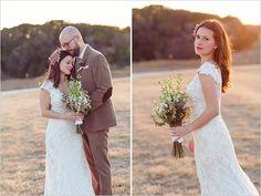 white wedding dress by Allure Bridals