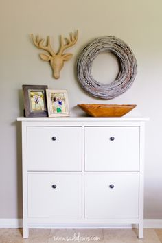 Ikea Hemnes shoe cabinet – hidden storage solutions for shoes # stored … – Furniture Storage Ikea Hemnes Shoe Cabinet, Shoe Cabinet Entryway, Entryway Decor, Shoe Storage Solutions, Hidden Storage, Gun Storage, Craft Storage, Storage Ideas, Home Additions