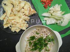 DADAR TELUR Cah Toge versi Pedas Gurih recipe step 2 photo