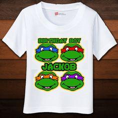 TMNT+Birthday+Shirt++Custom+by+BEANSandRICEdesigns+on+Etsy,+$14.50