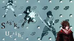 Uchiha sasuke naruto: shippuden akatsuki symbols wallpaper | (80467)