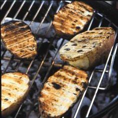 Rezept: Gegrillte Kartoffelhälften - [LIVING AT HOME]