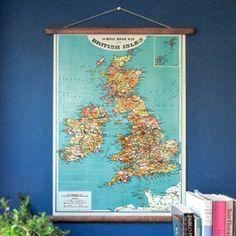 British Isles Pull-D