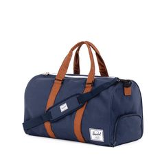 Gym Bags for Men Style Review: Canvas Sports Bag from Herschel