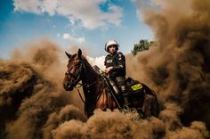Best Photos From The Sony World Photography Awards - Motion: 'National Police Day' By Piotr Cyganik, Poland Award Winning Photography, Photography Awards, World Photography, Street Photography, Betta, Large Photos, Cool Photos, Sony, Grand Canyon
