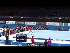McKayla Maroney - Podium Training - Floor - 2013 World Championships. Amazing, cant wait for worlds!