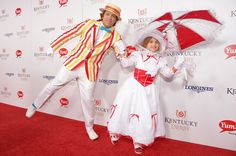 (L-R) Larry Birkhead and Dannielynn Hope Marshall Birkhead at the GREY GOOSE Red Carpet Lounge at the Kentucky Derby at Churchill Downs on May 4, 2013 in Louisville, Kentucky.