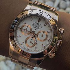 DAYTONA gold with ivory dial #fashion