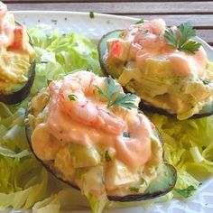 Vegetarian Recipes, Cooking Recipes, Healthy Recipes, Shrimp Recipes, Fish Recipes, Savory Salads, Good Food, Yummy Food, Love Eat