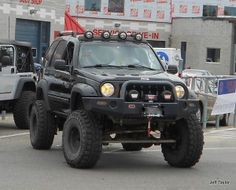 Jeep Liberty at the BAJA Charity Jeep Show jeeps Jeep Liberty Lifted, 2006 Jeep Liberty, Jeep Zj, Jeep Truck, Jeep Liberty Renegade, Custom Jeep, Custom Cars, Jeep Bumpers, Overland Truck