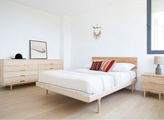Simple Bed by Kalon Studios