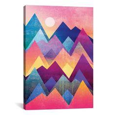Great Art Deserves to be on Canvas! Unlike cheap posters and paper prints that require additional framing, Giclée canvas artwork offers the texture, look and f