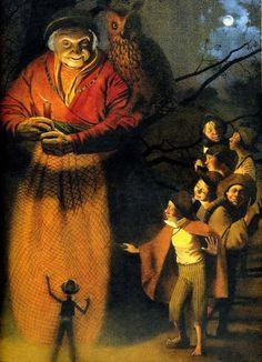 çizgili masallar: The Tales of Mother Goose by Nadezhda Illarionova