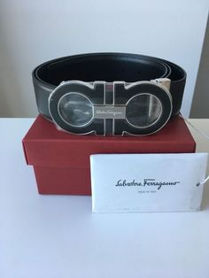 3dc16e2673d Extra Off Coupon So Cheap Salvatore Ferragamo Belt s man NEW with box tags  and certificate