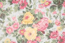 Waverly Homecoming Printed Cotton Drapery Fabric in Mist $6.95 per yard