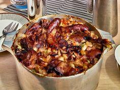 Cassoulet - beans, pork knuckle, duck legs