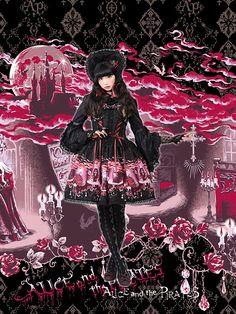 Night of the Devil's Castle jumper skirt Ⅰ