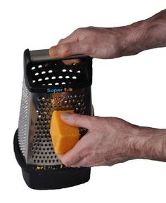 The brand new SuperEze Cheese & Vegetable Grater & Slicer. Grater, Grated Cheese, Canning, Fruit, Vegetables, The Fruit, Vegetable Recipes, Home Canning