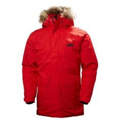 Amazing offer on Helly Hansen Men's Dubliner Parka 100 Gram Primaloft Insulated Waterproof Windproof Breathable Rain Coat Hood online - Newtoprated Chic Helly Hansen Men's Dubliner Parka 100 Gram Primaloft Insulated Waterproof Windproof Breathab Helly Hansen, Raincoat Outfit, Rain Jacket, Bomber Jacket, Jacket Men, Jacket Style, Quick Knits, Men's Coats And Jackets, Red S