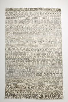 Hand-Knotted Yara Rug by Anthropologie in Assorted, Rugs