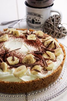 Banoffee, Sweet And Spicy, Yummy Cakes, Nutella, Tart, Sweet Tooth, Cheesecake, Good Food, Food And Drink