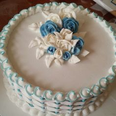 Royal icing pipped works