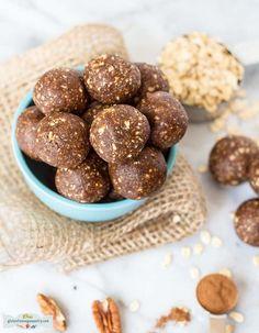 Pecan Pie Energy Bites- Vegan + Gluten-free | glutenfreeveganpantry.com