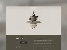 Reclaimed Lighting UI