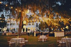 This century-old, Queen Anne-style retreat once hosted wealthy snowbirds including the Rockefellers and Vanderbilts. For a wedding as refined and relaxed as the estate's former leisure class, choose one of the club's seven venues, such as the fountained lawn of Crane Cottage, or the Riverfront Lawn with views of the Intracoastal Waterway and the Marshes of Glynn.  371 Riverview Drive