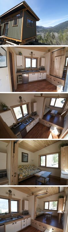 The V House is a creation by Nelson Tiny Houses based out of Nelson, British…