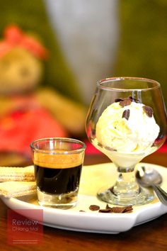 Affogato, genuinely the best thing ever!