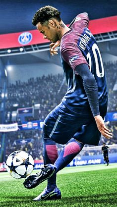 Want to experience the best skills by Neymar jr that will blow ur mind. Come experience the best entertaining Freekicks runs from EA sports FIFA 19 that will. Cr7 Messi, Neymar Psg, Ronaldo Juventus, Messi And Ronaldo, Cristiano Ronaldo, Neymar Football, Nike Football, Football Boots, Football Art
