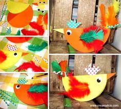 ¨°o.O Poule de Pâques en papier / Paper Easter Hens O.o°¨   www.creamalice.com