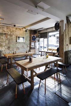 Tables rustic