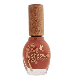 Sheswai - Nail Lacquer - Rootsy - 15 ml, A rich roasted caramel pumpkin color of the earth. Get rootsy.