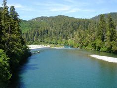 Smith River California, close to an Amazing Old Growth Forest. I want to go here!!!!