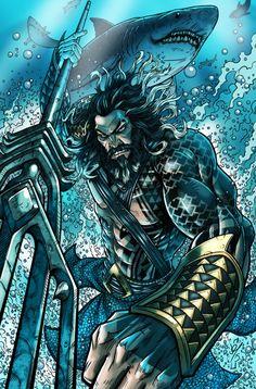Aquaman by Darren Tibbles