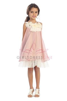 [Deal of the Week] Chiffon Short Flower Girl Dress K284-CR2 $29.95 on www.GirlsDressLine.Com Every Thursday at 10 AM PT on our Deal of the Week section, we feature a great item for that special occasion at an even lower price than our everyday great prices. Every week we feature a new item with prices up to 70% off. Quantities are limited.