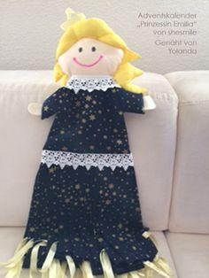 Adventskalender - Prinzessin Emilia (Nähanleitung und Schnittmuster von shesmile) Hier genäht von Yolanda.