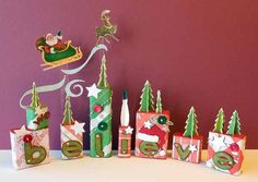 Christmas blocks. #christmas